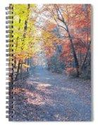Autumn On Forbidden Drive Spiral Notebook
