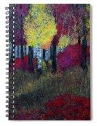 Autumn Peak Spiral Notebook