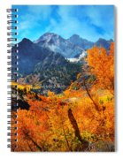 Autumns Glory Spiral Notebook