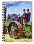 Aveling Roller Spiral Notebook