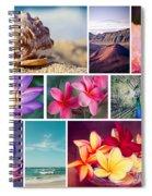 Awakening In Paradise Spiral Notebook