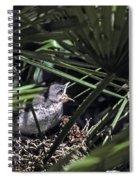 Baby Mockingbird Spiral Notebook