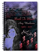 Back To Black Spiral Notebook