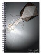 Bacteriophage Spiral Notebook