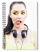 Bad Taste In Music Spiral Notebook