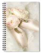 Ballet Shoes Spiral Notebook