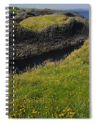 Ballintoy Harbor Spiral Notebook