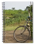 Banana Bike Spiral Notebook