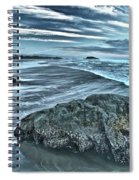 Bandon Beach Swirls Spiral Notebook