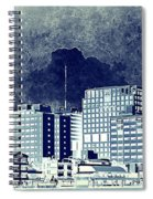 Bangkok Panorama Spiral Notebook