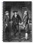 Baron De Kalb (1721-1780) Spiral Notebook