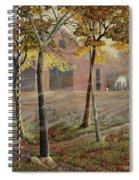 Barrel Spring Spiral Notebook