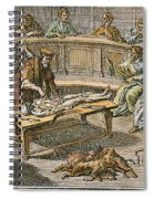 Bartolommeo Eustachio Spiral Notebook