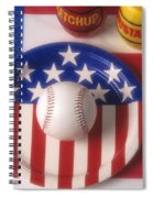Baseball Dinner Spiral Notebook