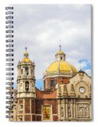 Basilica Of Our Lady Of Guadalupe Spiral Notebook