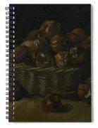 Basket Of Apples Spiral Notebook