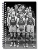 Basketball Team, 1920 Spiral Notebook