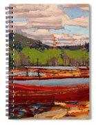 Bateaux Spiral Notebook