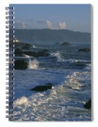 Battery Point Lighthouse At Sunset Spiral Notebook