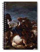 Battle Of Saint-quentin Spiral Notebook