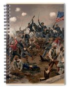 Battle Of Spottsylvania Spiral Notebook