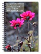 Be Strong Spiral Notebook