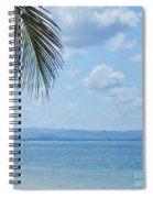 Beach Background Spiral Notebook