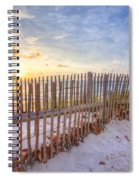 Beach Fences Spiral Notebook