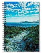 Beach Track Spiral Notebook