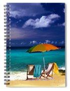 Beach Umbrella Spiral Notebook