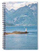 Beacon At Snug Cove Spiral Notebook