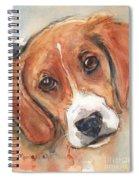 Beagle Dog  Spiral Notebook