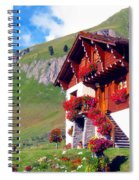 Beautiful Cottage Spiral Notebook
