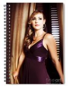 Beautiful Glamour Model Spiral Notebook