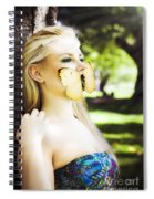 Beauty In Silence Spiral Notebook