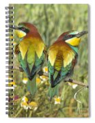 Bee-eaters Spiral Notebook