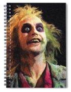 Beetlejuice Spiral Notebook