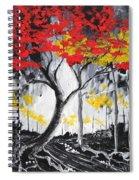 Behold The Light Spiral Notebook