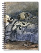 Bellevue Hospital, 1860 Spiral Notebook