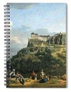 Bellotto's The Fortress Of Konigstein Spiral Notebook