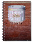 Ben Hur Coffee Spiral Notebook