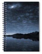 Beneath A Jewelled Sky Spiral Notebook