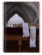 Bible In Temple Spiral Notebook