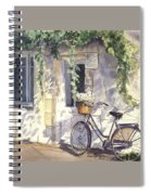 Bicycle Spiral Notebook