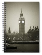 Big Ben On A Wintery Day Spiral Notebook