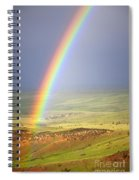 Big Horn Rainbow Spiral Notebook
