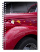 Big Red Two Spiral Notebook