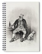 Bill Sykes And His Dog, From Charles Spiral Notebook