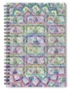 1 Billion Dollars Spiral Notebook