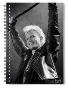 Billy Idol Spiral Notebook